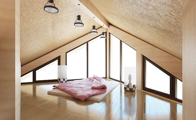 Una casa a tre piani in legno cilindrato 214 m2 for Casa a tre piani