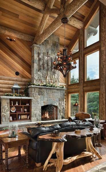 Design dell 39 interno della casa di legno for Interno della casa
