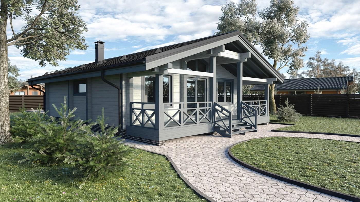 Un tipico progetto di una casa fatta di legno 80 90 for Progetto di una casa